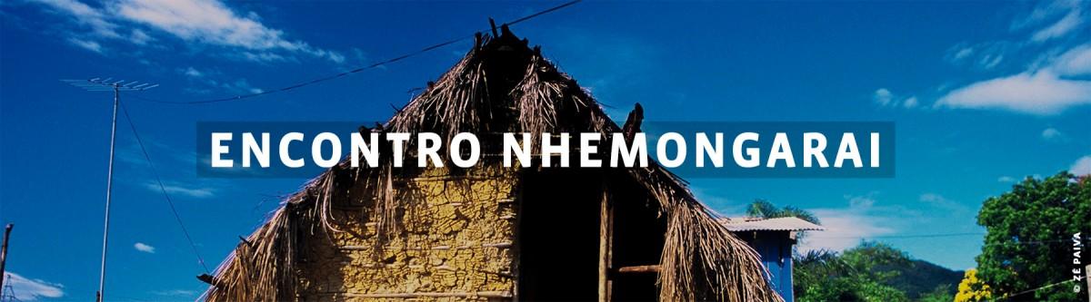 Encontro Nhemongarai Cabana de palha